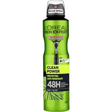 MEN EXPERT CLEAN POWER 48H ANTI-PERSPIRANT