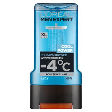 MEN EXPERT COOL POWER SHOWER GEL 300ML