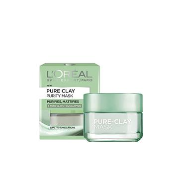 PURE CLAY PURITY FACE MASK 50ML