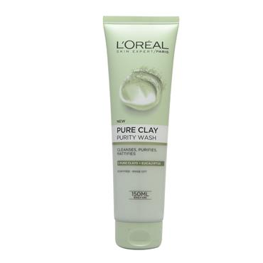 PURE CLAY FOAM WASH GREEN 150ML