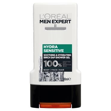 MEN EXPERT SHOWER GEL 300ML HYDRA SENSITIVE