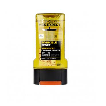 MEN EXPERT INVINCIBLE SPORT SHOWER GEL 300ML
