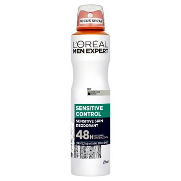 MEN EXPERT SENSITIVE CONTROL 48H DEODORANT 250ML
