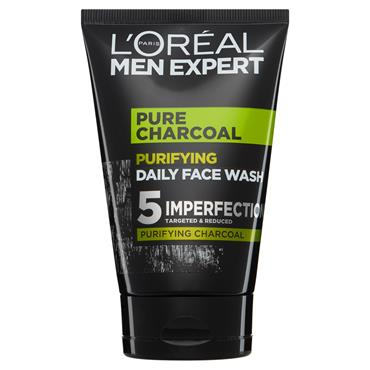 MEN EXPERT PURE CHARCOAL PURIFYING DAILY FACE WASH