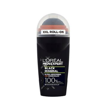 MEN EXPERT BLACK MINERAL ROLL ON DEODORANT