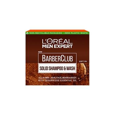 MEN EXPERT BARBERCLUB SOLID SHAMPOO & WASH