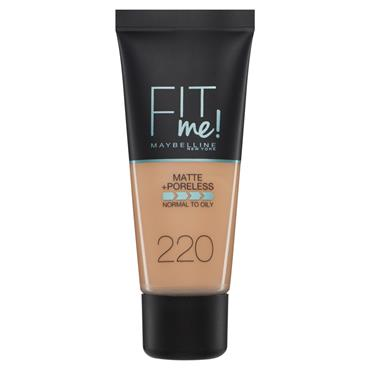 FIT ME FOUNDATION 220 NATURAL BEIGE