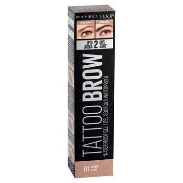 LOREAL TATTOO BROW WP GEL 01 BLONDE