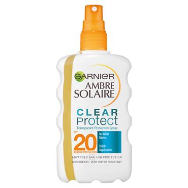 AMBRE SOLAIRE CLEAR PROTECTION SPRAY SPF20