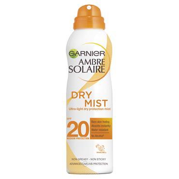 AMBRE SOLAIRE DRY MIST SPRAY SPF20