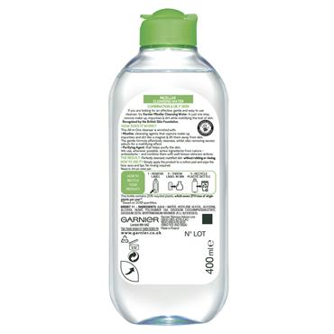 MICELLAR WATER FACIAL CLEANSER COMBINATION SKIN 400ML