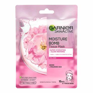 MOISTURE BOMB SAKURA HYDRATING SHEET MASK