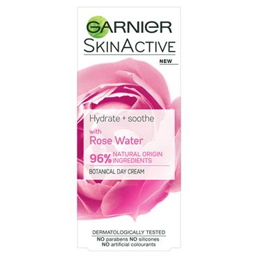 NATURAL ROSE WATER MOISTURISER SENSITIVE SKIN