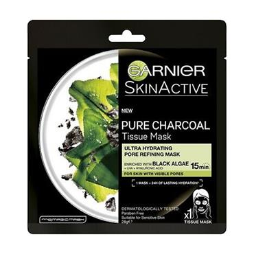 CHARCOAL AND ALGAE HYDRATING SHEET MASK