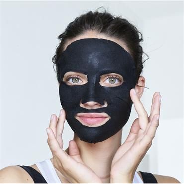CHARCOAL & BLACK TEA PURIFYING SHEET MASK