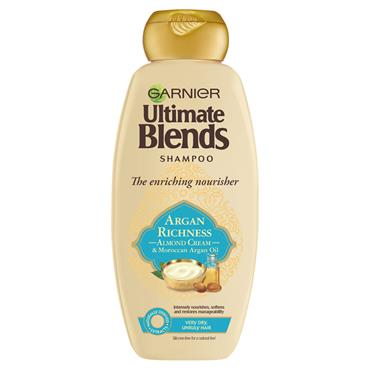 ULTIMATE BLENDS ARGAN OIL AND ALMOND SHAMPOO 360ML