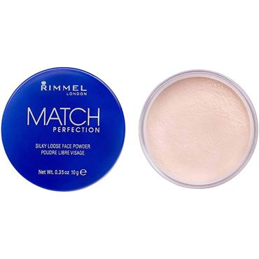 MATCH PERFECTION SILKY LOOSE FACE POWDER TRANSPARENT