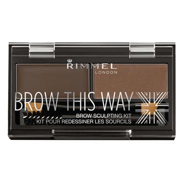 BROW THIS WAY KIT DARK BROWN