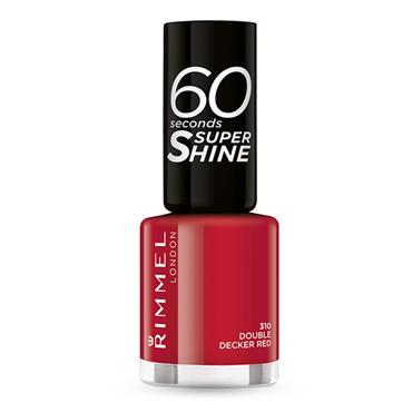 60 SECONDS NAILS DOUBLE DECKER RED