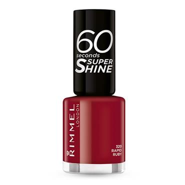 60 SECONDS NAILS RAPID RUBY