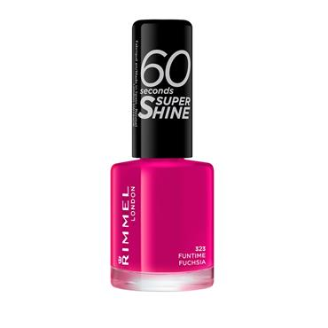 60 SECONDS NAILS FUNTIME FUCHSIA