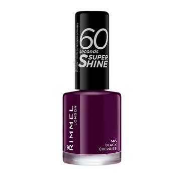 60 SECONDS NAILS BLACK CHERRY