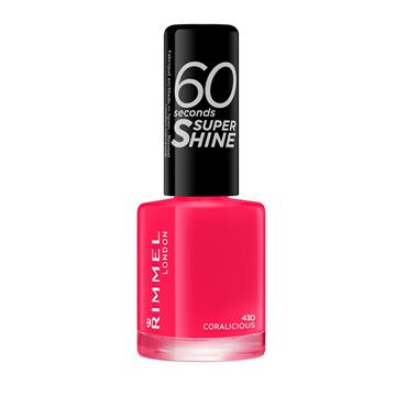 60 SECONDS NAIL CORALICIOUS