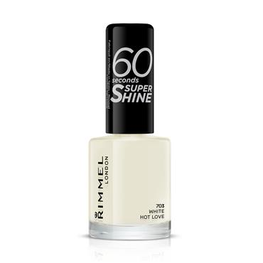 60 SECONDS NAIL WHITE HOT LOVE