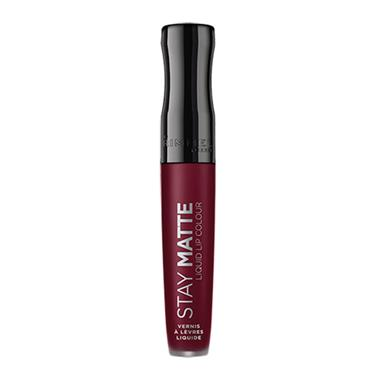 RIMELL STAY MATTE LIP 810 PLUM THIS SHOW