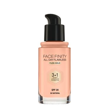MAX FACTOR FOUNDATION 3IN1 NATURAL