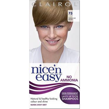 NICE N EASY No Ammonia Demi Permanent Medium Ash Blonde 73