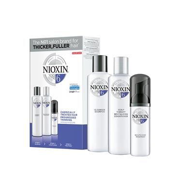 NIOXIN 6 SET CHEMICALLY TREATED HAIR WITH PROGRESSED THINNING