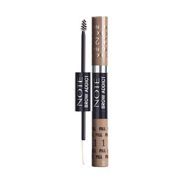 BROW ADDICTS TINT & SHAPING GEL 02 LIGHT BROWN