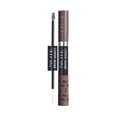 BROW ADDICTS TINT & SHAPING GEL 04 GREY BROWN