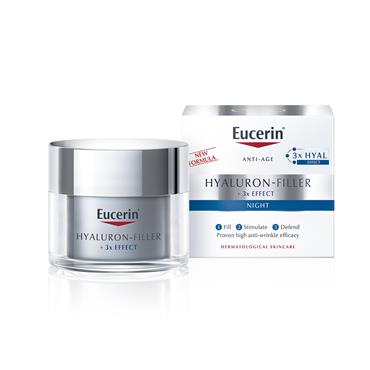 HYALURON-FILLER WRINKLE FILLING TREATMENT NIGHT CREAM