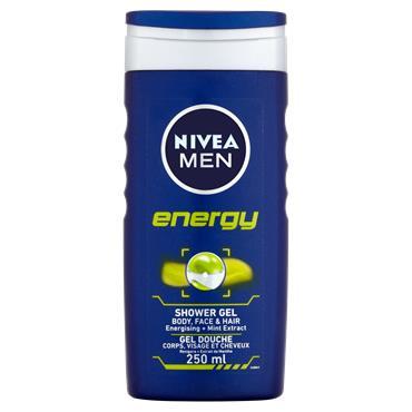 MEN SHOWER ENERGY 250ML