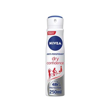 DRY CONFIDENCE DEODORANT DRY SPRAY 250ML