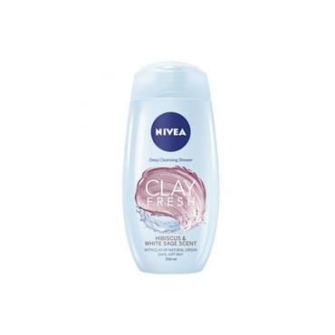 NIVEA SHOWER CLAY FRESH HIBICUS & WHITE SAGE SCENT