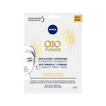 Q10 POWER FIRMING SHEET MASK