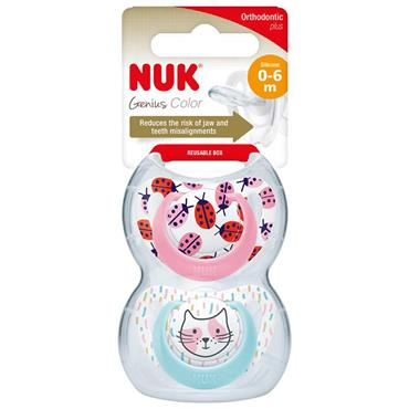 GENIUS SILICONE DES SOOTHER GIRL S1