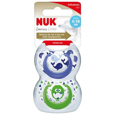 GENIUS SILICONE DES SOOTHER BOY S2