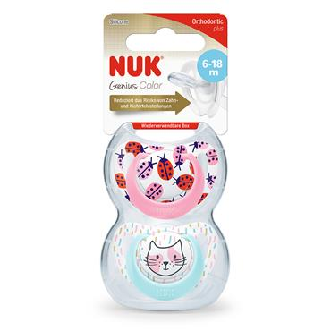 GENIUS SILICONE DES SOOTHER GIRL S2