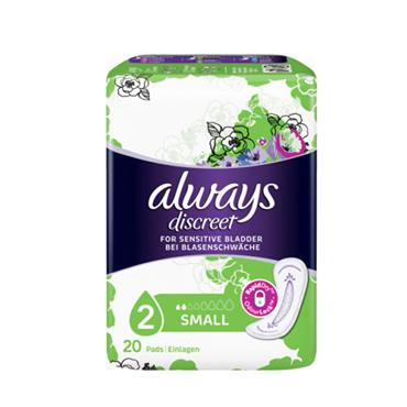 ALWAYS DISCREET SMALL PADS SP 20S