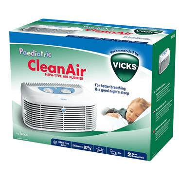 VICKS PAEDIATRIC CLEAN AIR PURIFIER