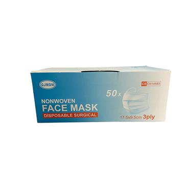 DISPOSABLE SURGICAL FACE MASK X50