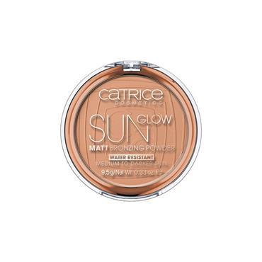 SUN GLOW MATT BRONZING POWDER 035