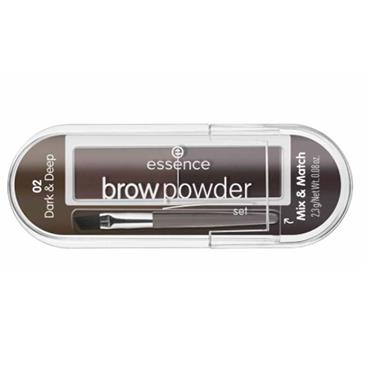 BROW POWDER 02 DARK + DEEP