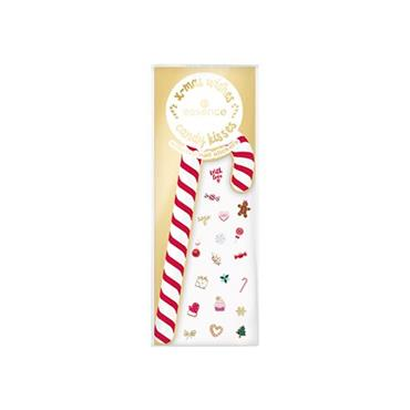 XMAS WISHES, CANDY KISSES - SCENTED NAIL STICKERS