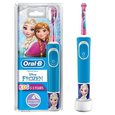 ORAL B FROZEN TOOTHBRUSH RECHARGABLE