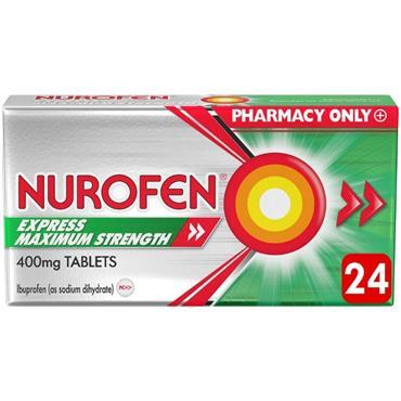 NUROFEN EXPRESS 400MG MAX TABLET 24